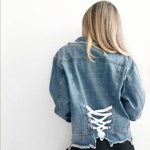 Jackets & Blazers - ❗️TWO left❗️Frayed Denim Jacket